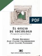 El oficio del sociólogo - Bourdieu, Chamboredon y Passeron.pdf