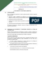 6. Plan de Monitoreo y Seguimiento Ambiental
