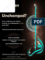 HOW DO WE KNOW THE QURAN IS UNCHANGED || Australian Islamic Library || www.australianislamiclibrary.org