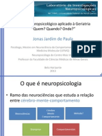 2013 Exame Neuropsicologico Aplicado a Geriatria