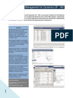 Dynamics GP TAX Management Mexico - Data Sheet