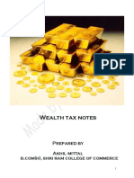 Wealth Tax Notes