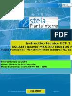 UCF1 DSLAM Huawei