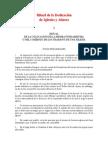 Notas Preliminares Ritual Dedicacion Iglesias y Altares