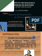 Biografia by Arquimedes