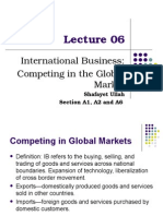 International Business CHP 6 intro to bus.ppt