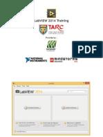NI LabVIEW 2014 Training Slides