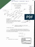 Jung v. Skadden, Arps, Slate Meagher & Flom, LLP et al - Document No. 21