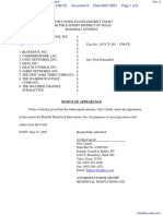 Beneficial Innovations, Inc. v. Blockdot, Inc. et al - Document No. 6
