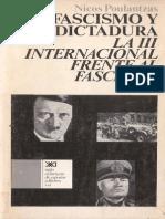 Fascismo y Dictadura. Poulantzas.