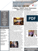 TADCP Newsletter March 2014