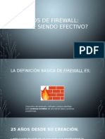 25 Años de Firewall
