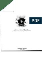 Balance de La Cooperación 1996-2000
