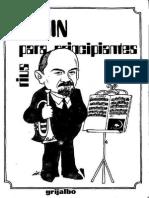 Lenin Para Principiantes-Rius