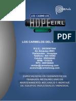 Brochure Los Carmelos Del Hdpe