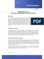 Bulletin 52 Filter Monitor Vessels Flow Rates and DP Monitoring Jun 2012...