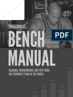 JTS Squat Bench Deadlift Manual