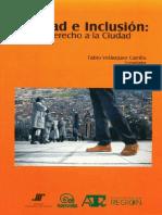 Ciudad e Inclusión