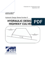 Hydraulic Design of Highway Culvert