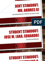 student standout