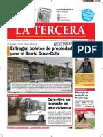 Diario La Tercera 23.07.2015