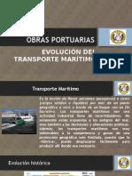 TRANSPORTE MARÍTIMO, HISTORIA Y EVOLUCION