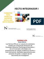 Clase Manual Apa Tesis y Proyecto de Tesis