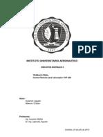 Control Remoto para transceptor VHF 20A