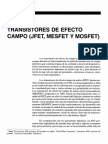 Semana 9 - 16 Transistores de Efecto de Campo