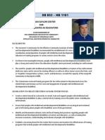 MD SB853 & HB1161 Fact Sheet