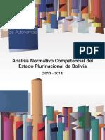 SEA (2015)-Analisis Normativo Competencial 2010-2014