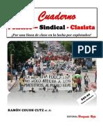 cuaderno Sindical Clasista Núm. 1 -Marzo 26 de 2014