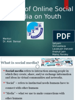 Effects of online Social Media on Youth.pptx