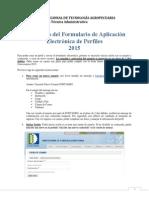 Instructivo Formulario Aplicacion Perfiles 2015_0