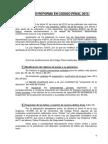 Resumen Reforma c.penal 2015