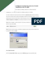 Cómo Configurar El Control de Acceso en El Router Inalámbrico N de TP-LINK