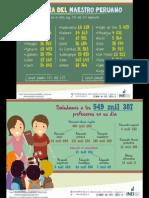Estadística INEI_dia Del Maestro