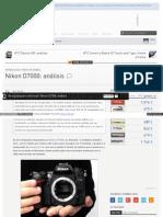 Www Quesabesde Com Noticias Nikon d7000 Analisis Fotos Video