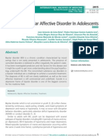 Bipolar Affective Disorder in Adolescents