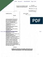 Dunne v. Massachusetts Board of Bar Examiners et al - Document No. 1