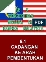 Bab 6 Pengukuhan Bangsa Dan Negara Malaysia