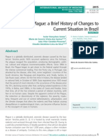 Bubonic Plague, A Brief History of Changes to Current Situation in Brazil