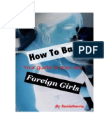 How to Bang Foreign Girls