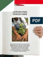 Decálogo Para Vivir Verde