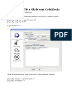 Usando GTK e Glade Com CodeBlocks