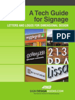 A Tech Guide for Signage