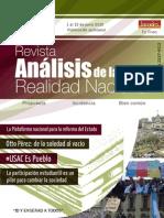 Revista Análisis de la realidad nacional USAC