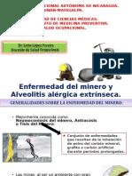 ENFERMEDAD DEL MINERO Y ALVEOLITIS ALÉRGICA EXTRÍNSECA..ppt