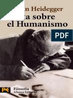 Heidegger- Carta al humanismo.pdf