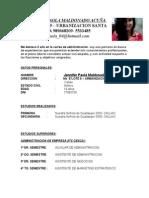 Curriculum Jennifer Maldonado a. (2)